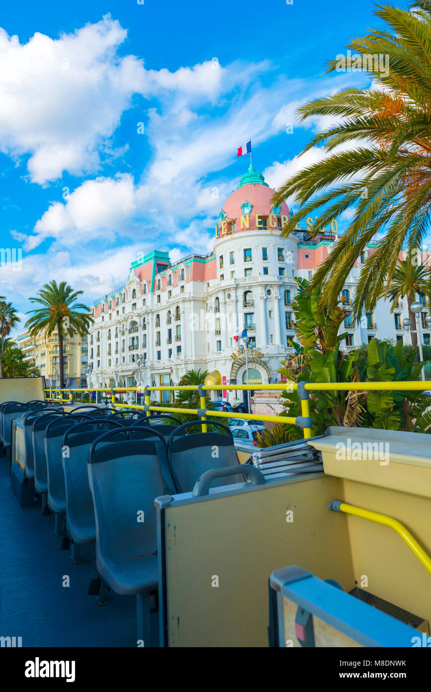 Le Negresco Hotel Stockfotos Le Negresco Hotel Bilder Alamy