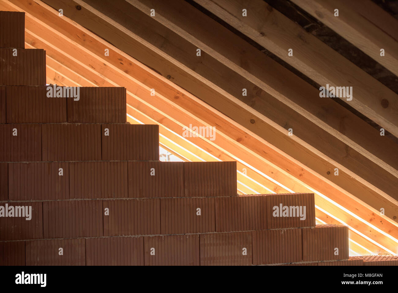 Roof Beam Support Stockfotos & Roof Beam Support Bilder - Alamy