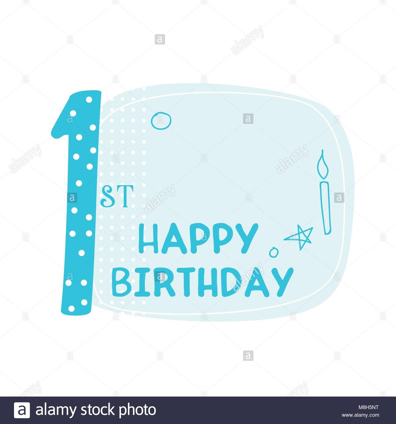 Susse Erste Happy Birthday Card Design