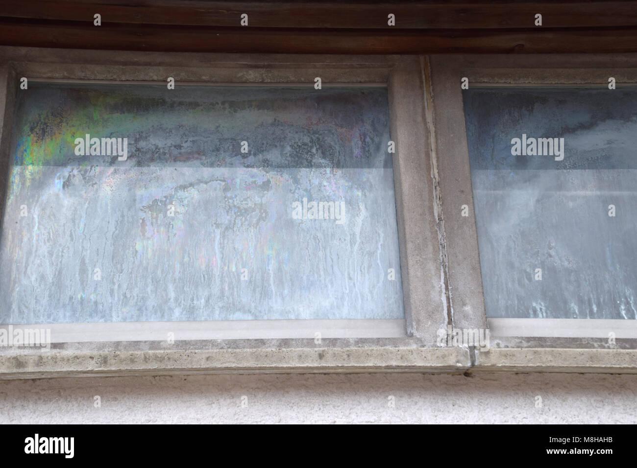 Fenster Beschlagen Bis Stockfoto Bild 177402439 Alamy