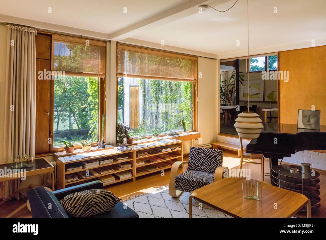 Das Aalto Haus wurde von finnischen Architekten Alvar Aalto ...
