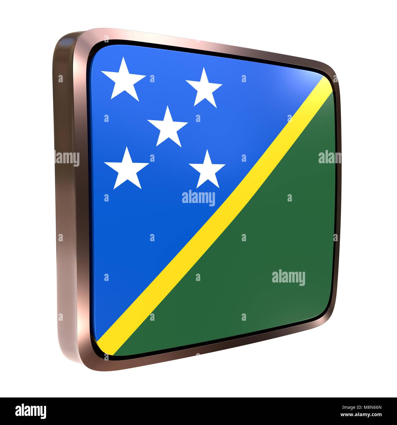 3d Rendering Solomon Islands Flag Stockfotos & 3d Rendering Solomon ...