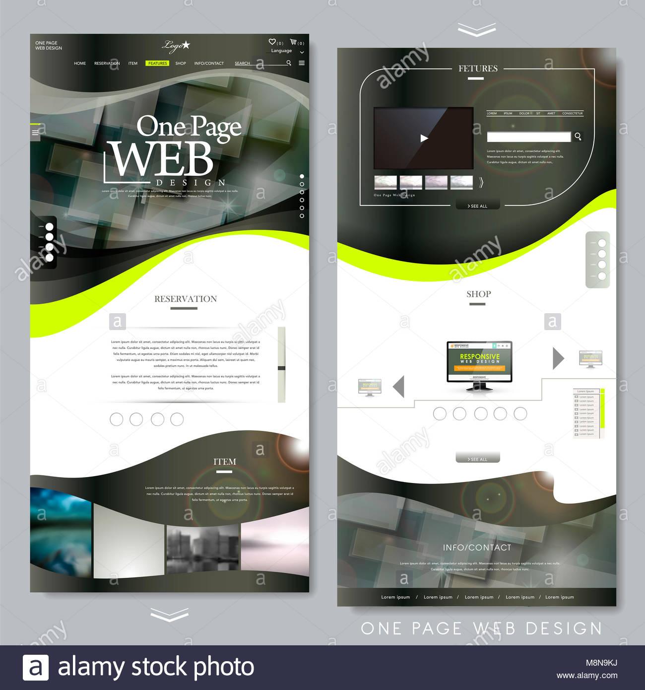 Schön Eine Seite Websitevorlage Zeitgenössisch - Beispiel Business ...