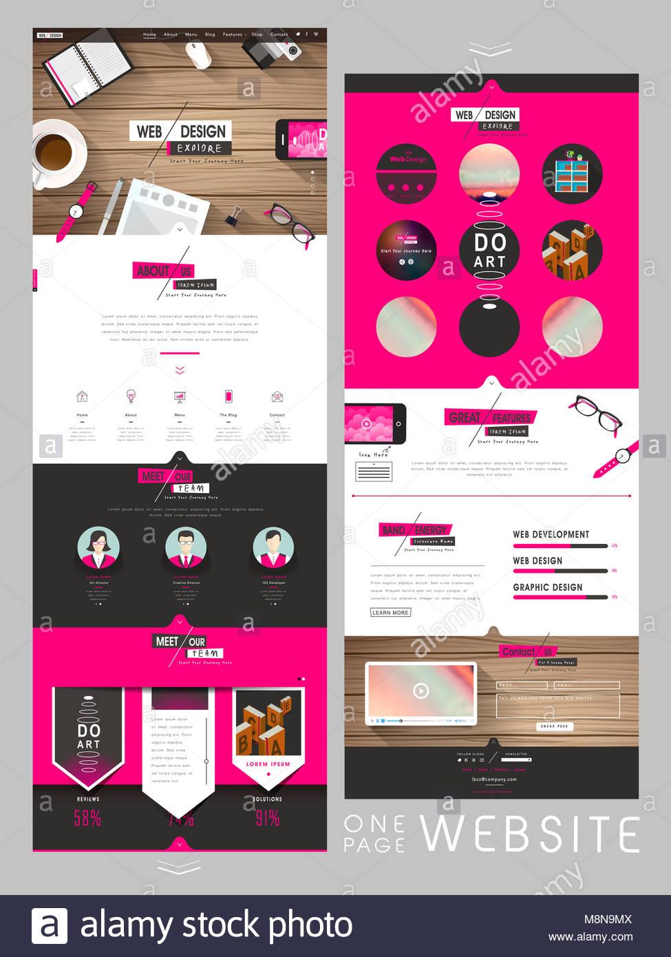 One Page Website Stockfotos & One Page Website Bilder - Seite 3 ...