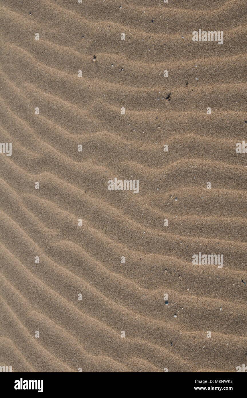 Sandmuster Stockbild