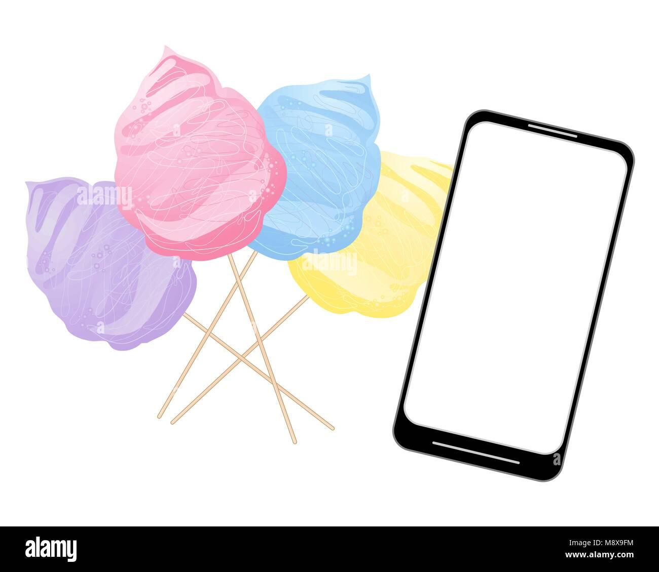 Cotton Candy Advert Stockfotos & Cotton Candy Advert Bilder - Alamy