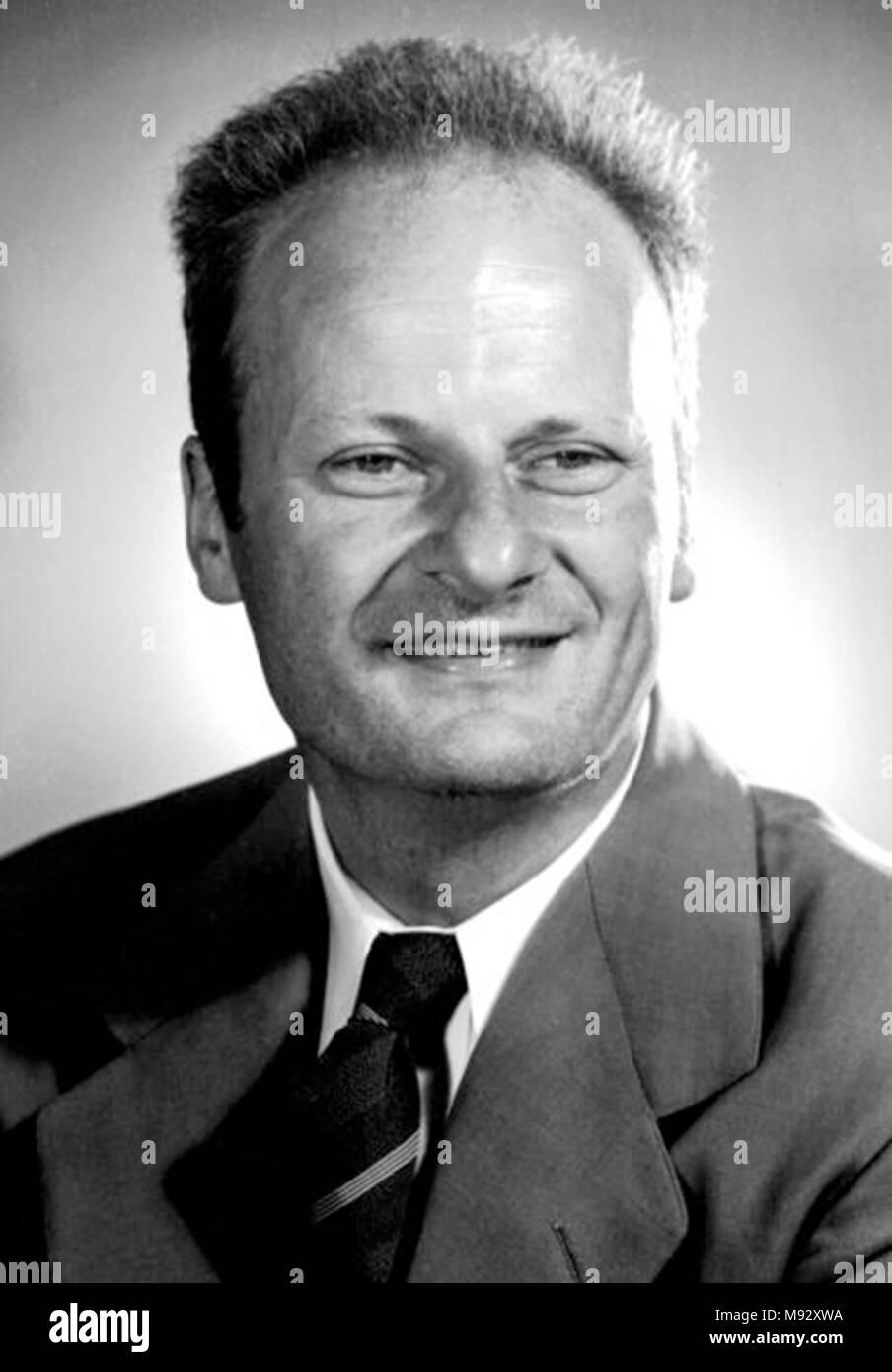 Hans Albrecht Bethe (1906-2005) Deutsche und Amerikanische Kernphysiker Stockbild