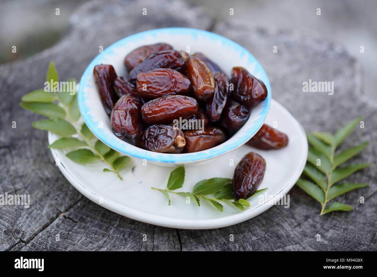 Datum exotische Früchte Stockbild
