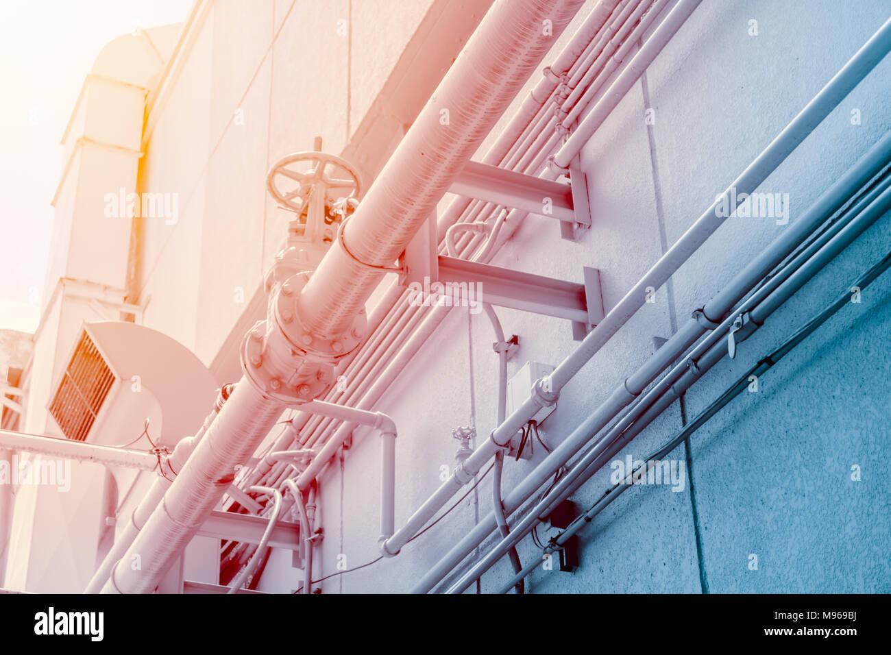 Restaurant Rauch Luftleitung Küche Airduct Für Vakuum Geruch System  Entlüften Stockbild