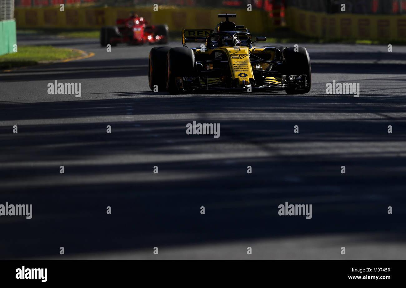 Motorsport Fia Formel Eins Weltmeisterschaft 2018 Melbourne