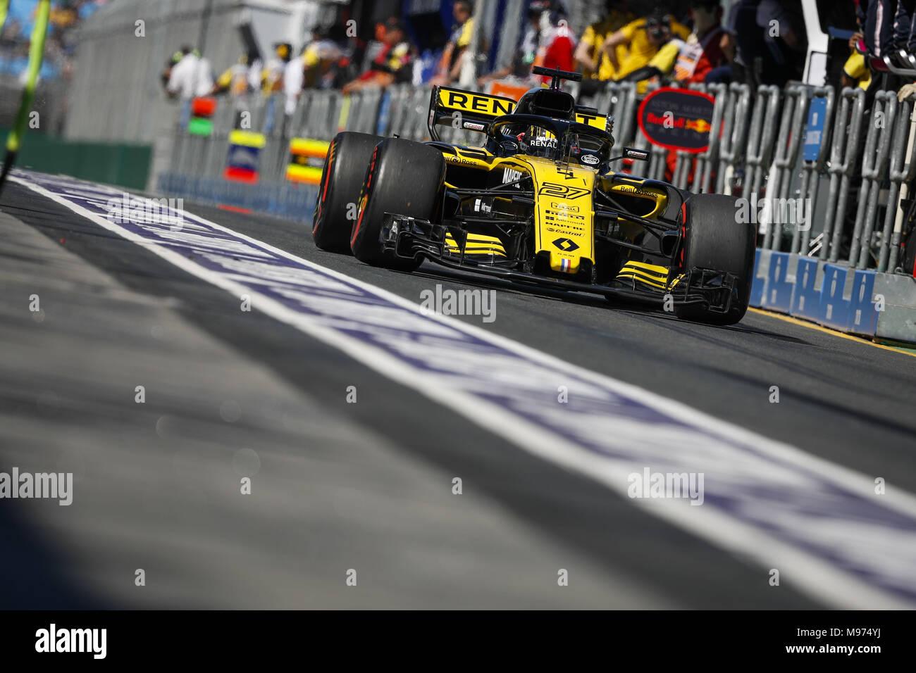 Melbourne Australien 23 Mär 2018 Nico Hulkenberg Ger Renault