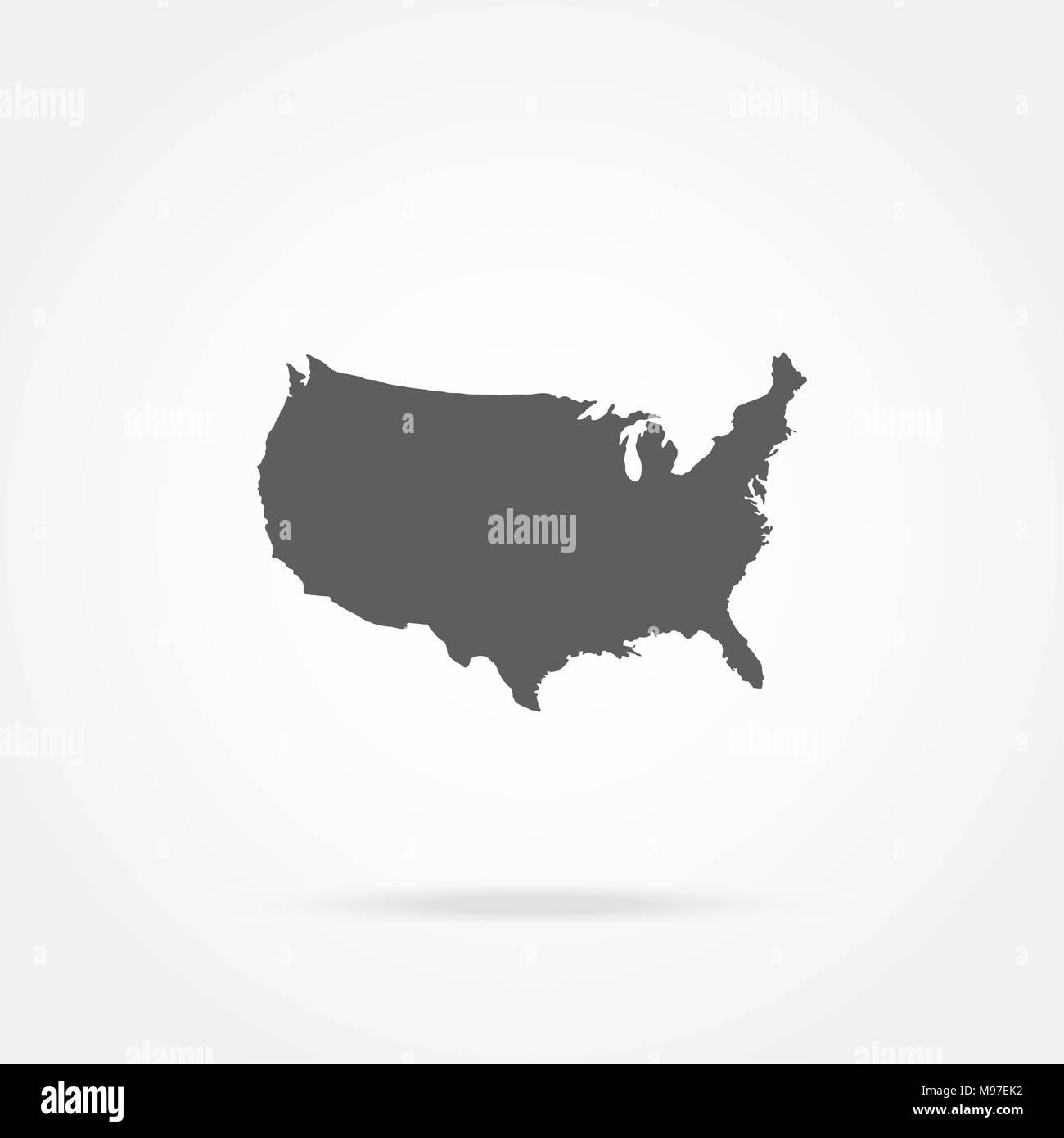 Wunderbar Karte Der Vereinigten Staaten Färbung Seite Ideen - Ideen ...