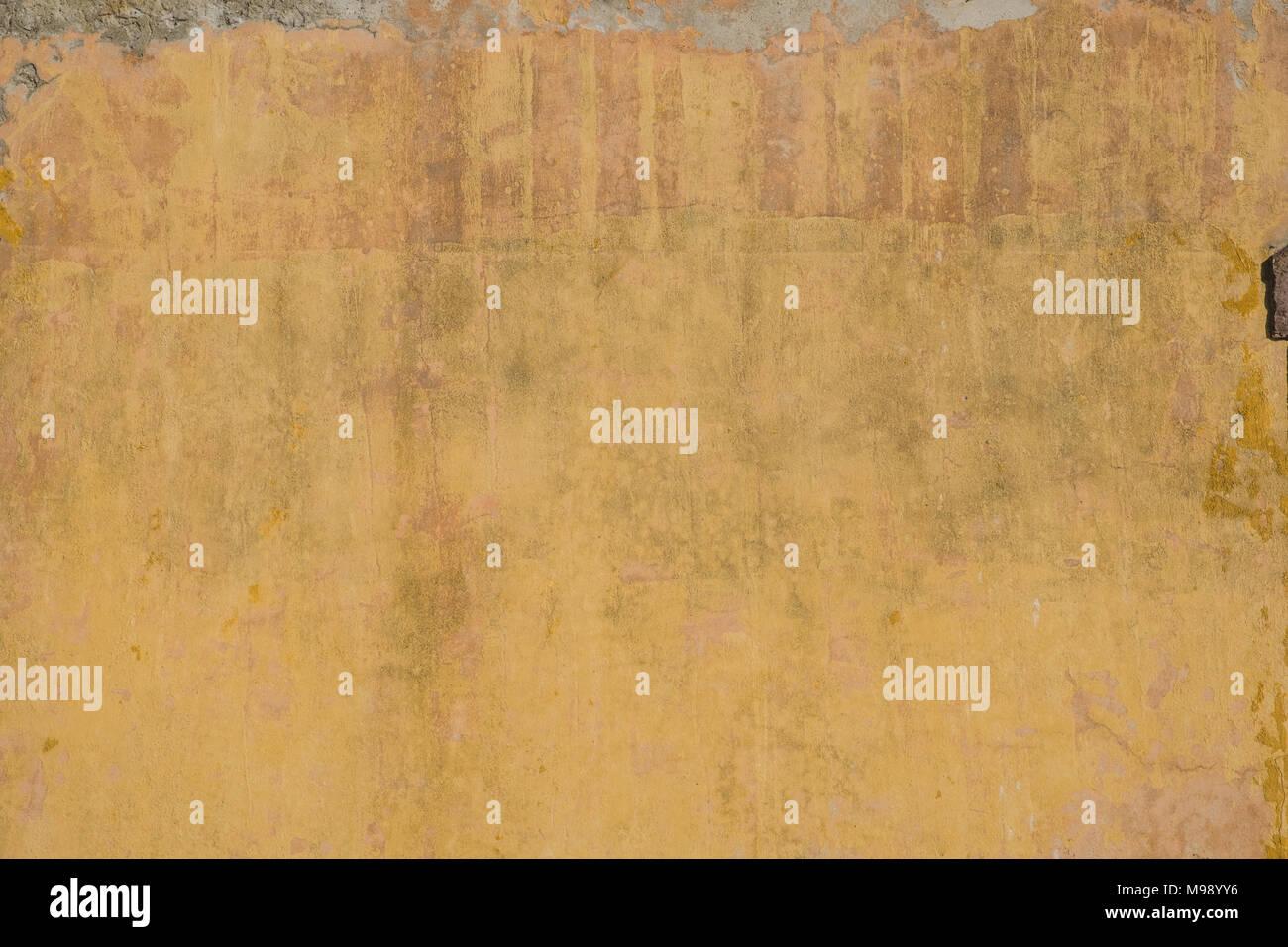Fantastisch Vintage Wand Hintergrund   Alte Mauer Putzstruktur, Gelb, Braun