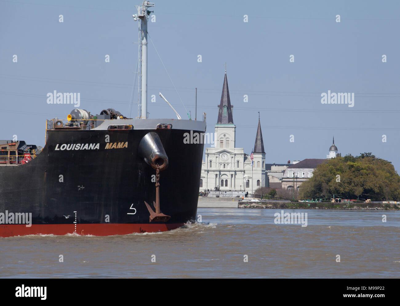 Schiffe Bereist Den Mississippi River Pass St Louis Kathedrale Und