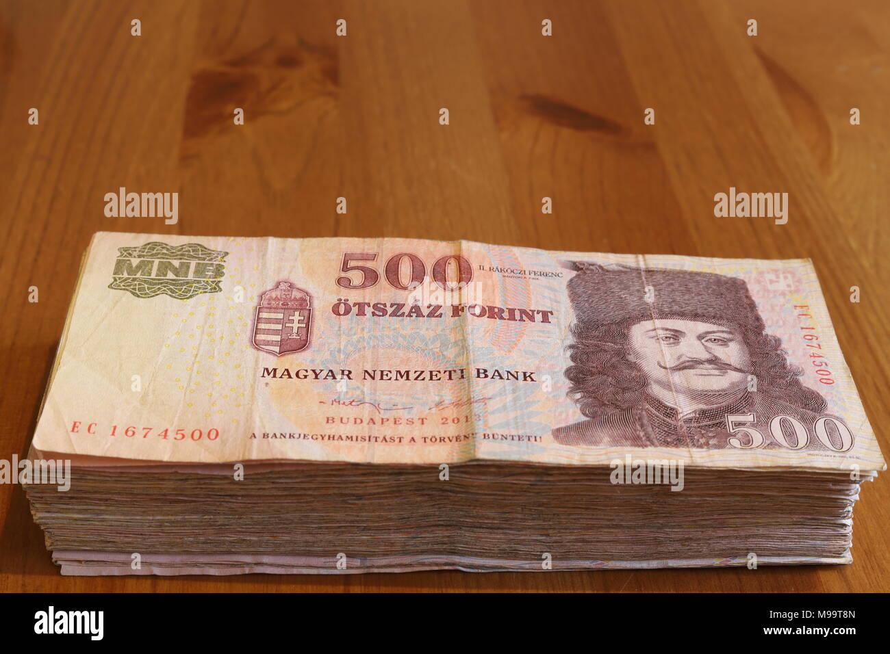 Hungarian Money Stockfotos & Hungarian Money Bilder - Alamy