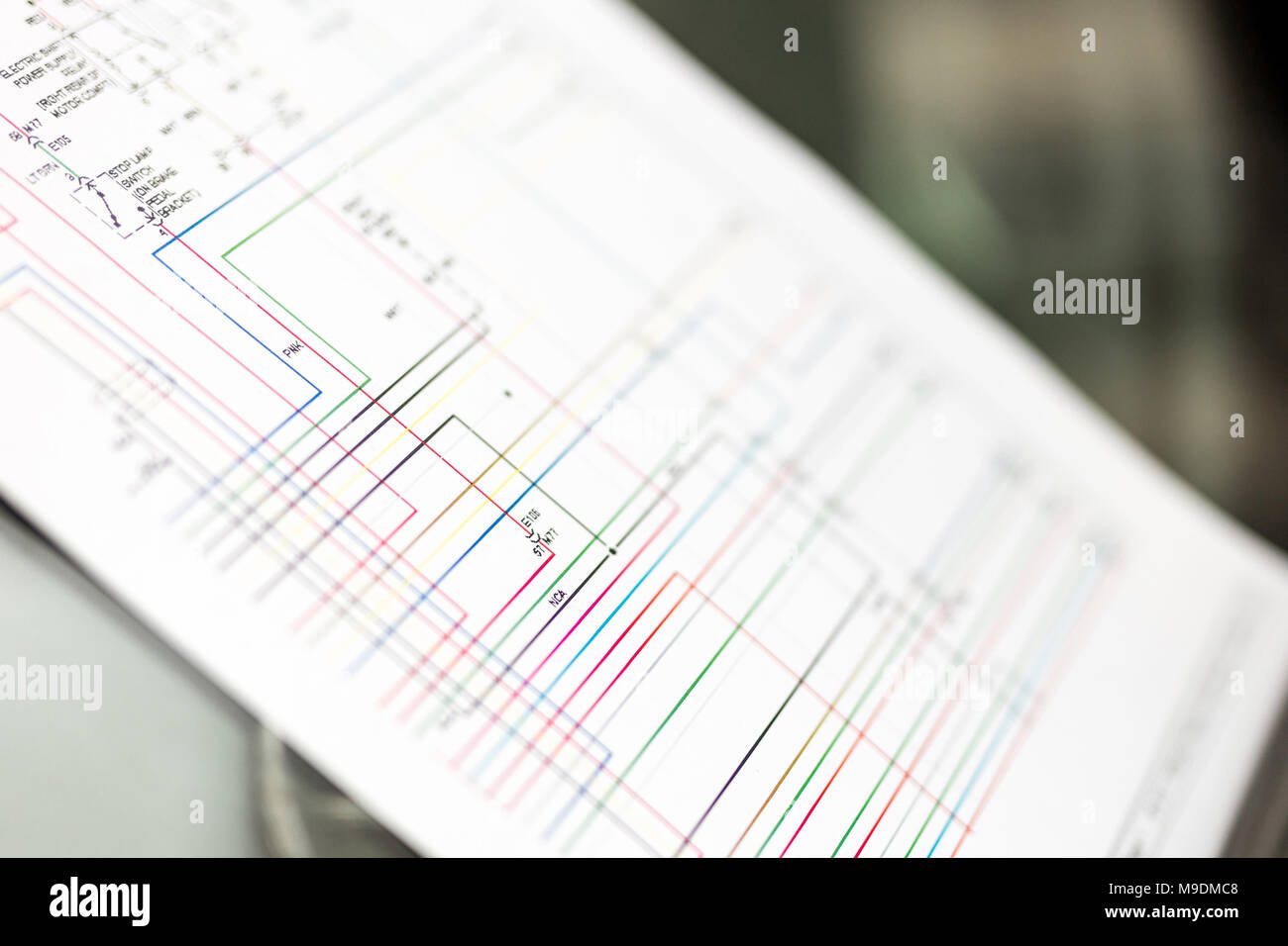 Wiring Diagram Stockfotos & Wiring Diagram Bilder - Alamy