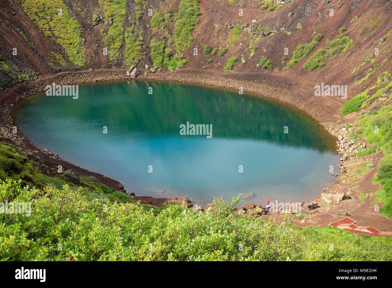 Bogenle Kupfer circular pond aerial stockfotos circular pond aerial bilder alamy
