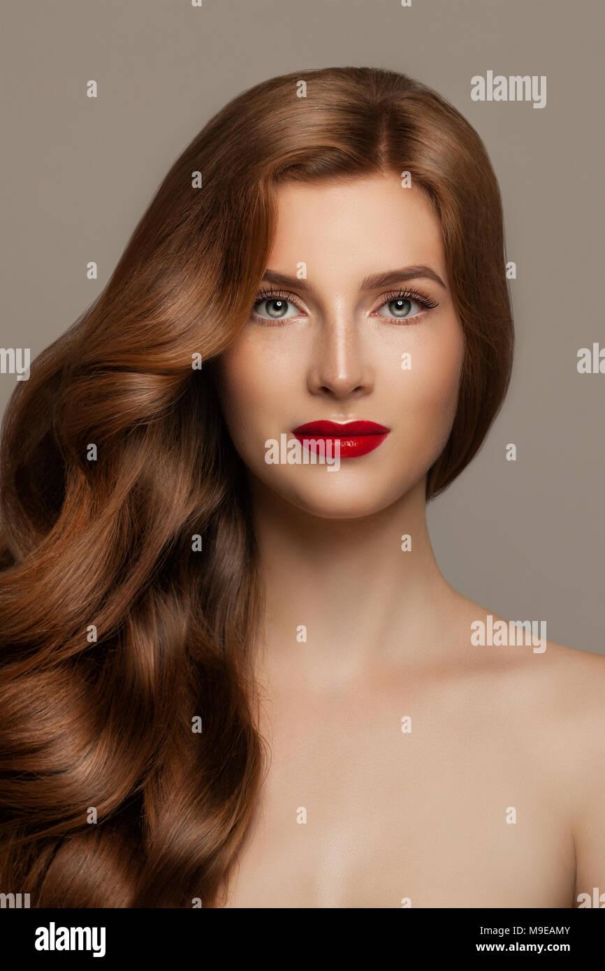 Hübsches Gesicht Frau Was Ist Der Unterschied Zwischen Einer