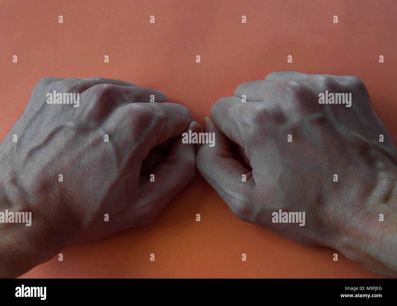 Stirn dayheartlesri: adern sichtbar der auf Stirnvene sichtbar