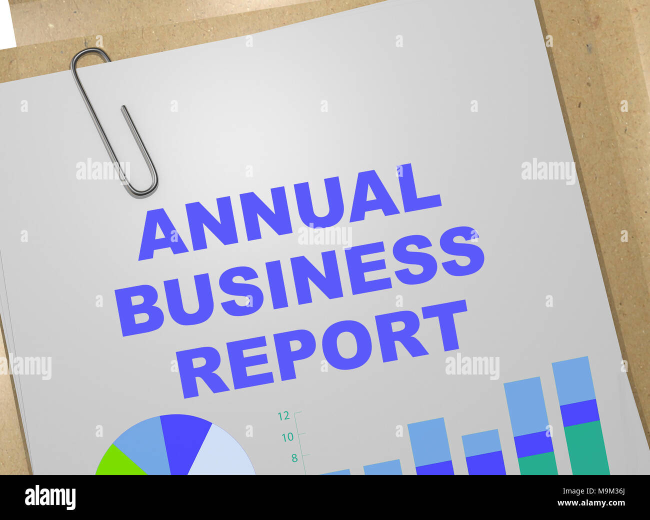 Annual Report Template Stockfotos & Annual Report Template Bilder ...