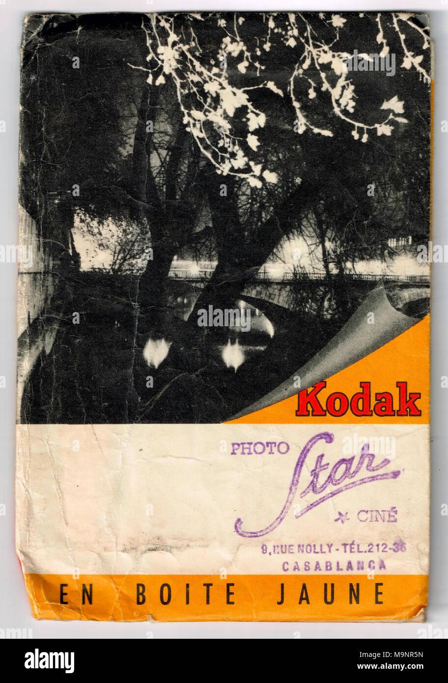 Datiert das Papier von Kodak