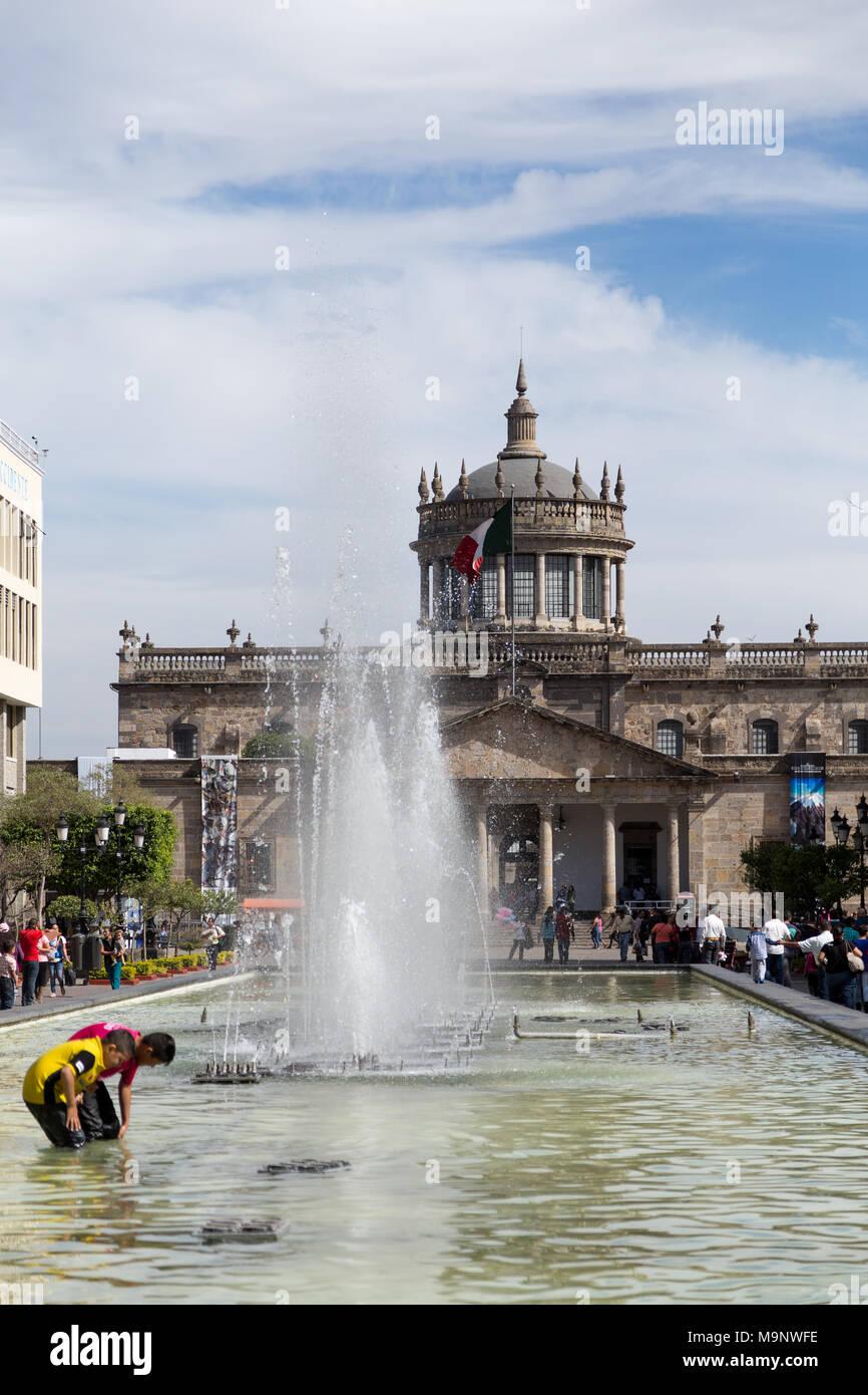Hospicio Cabanas (Institut Cultural Cabanas), Museum und Kulturzentrum in Guadalajara, Jalisco, Mexiko Stockbild