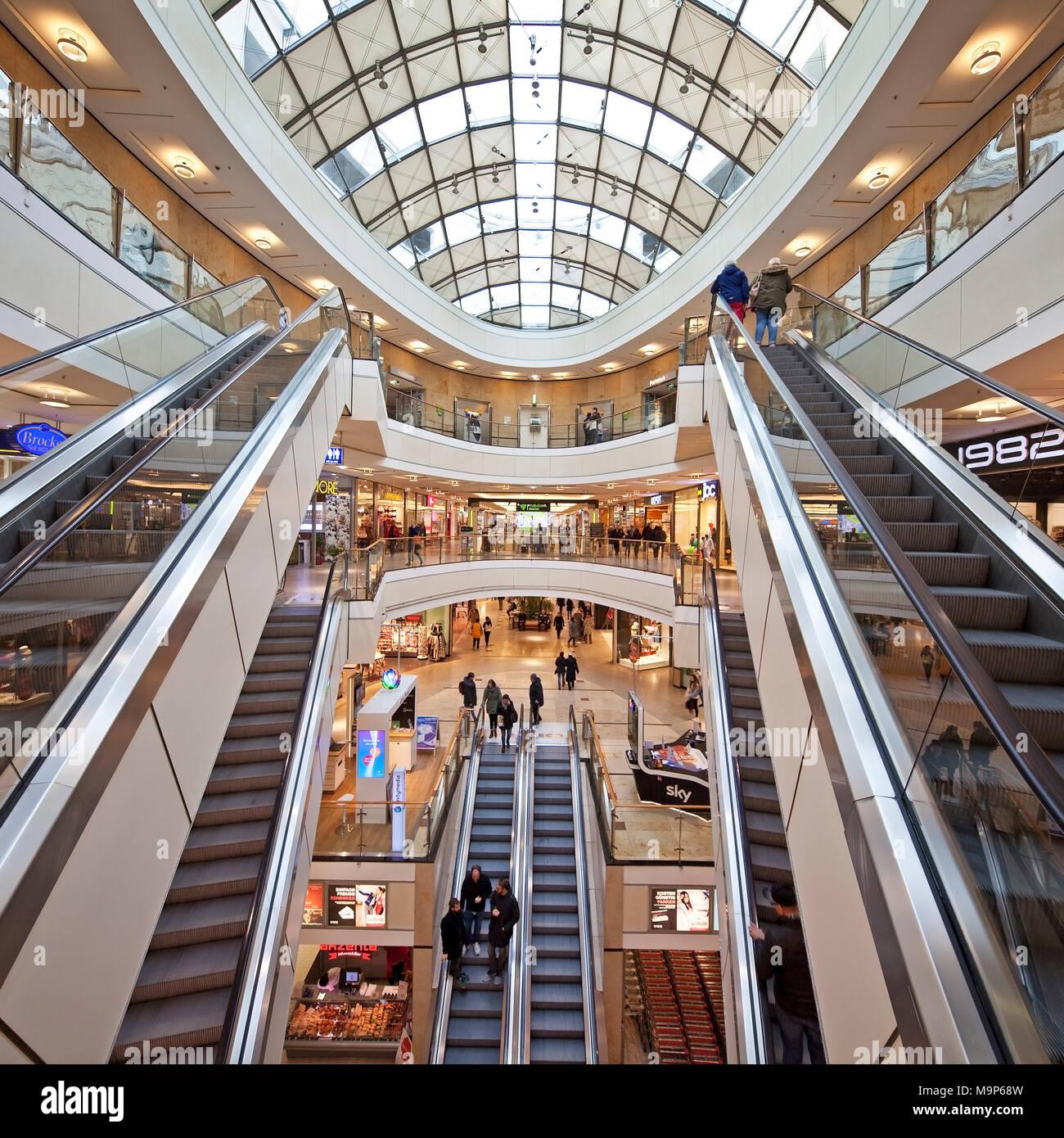 Das Einkaufszentrum City Arkaden, Wuppertal, Bergisches Land 3EK10