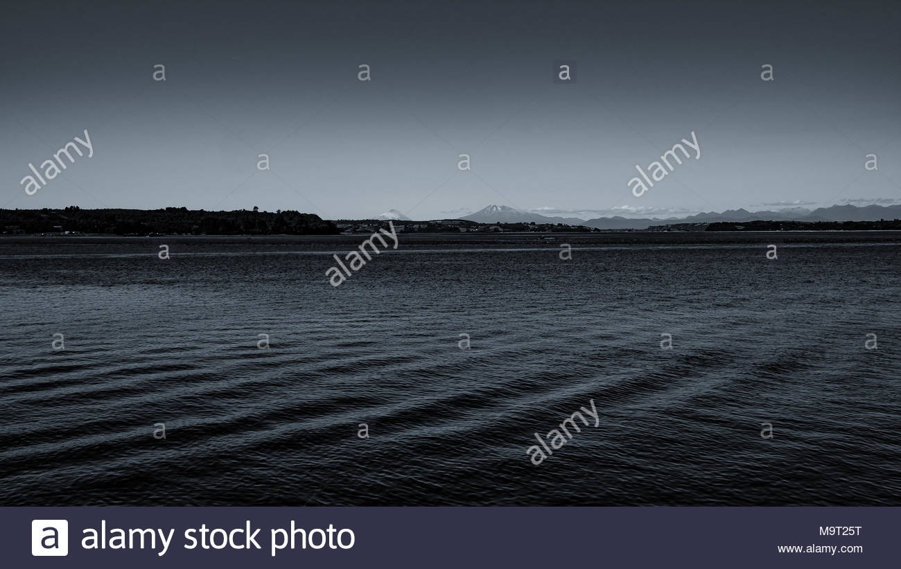 Chiloe Archipel 2018 Stockbild