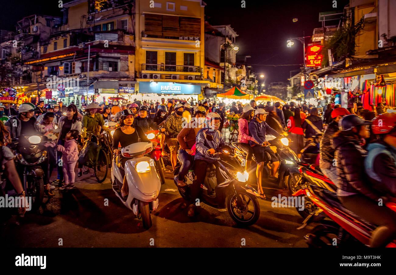 Asien, Vietnam, Hanoi Stockbild