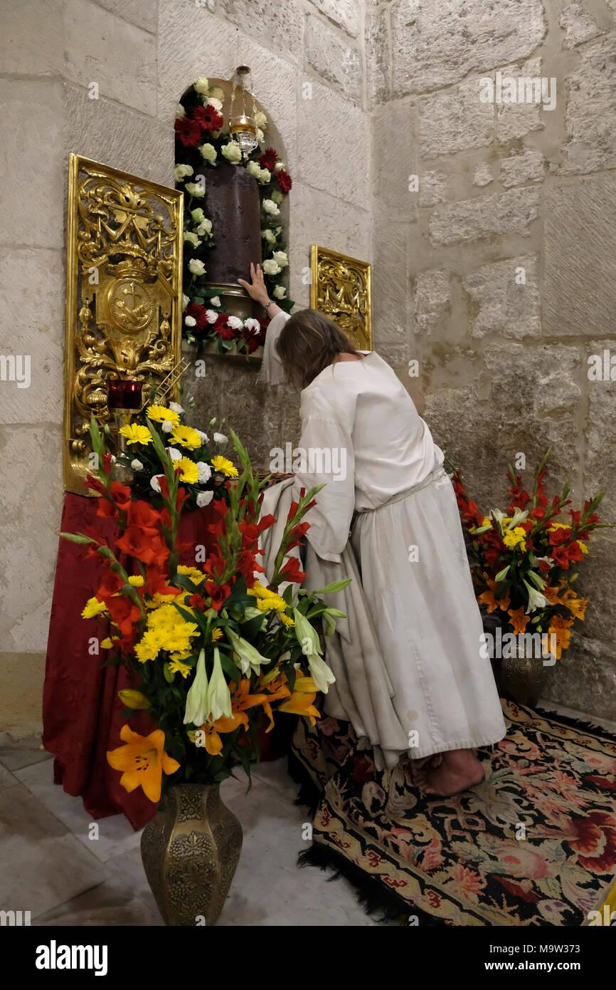 katholische Heilige zu beten