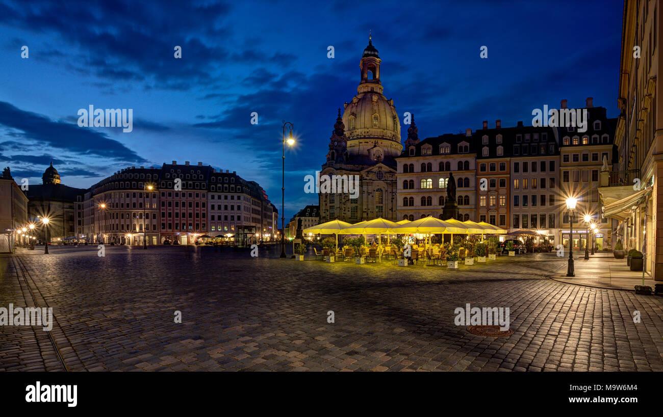 Dresden Frauenkirche Stockbild