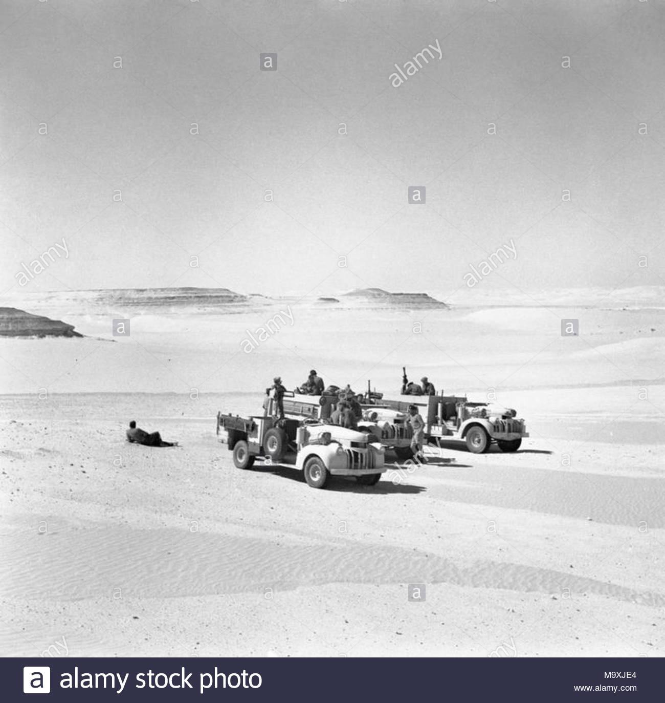 Lrdg Long Range Desert Group Chevrolet 30 Cwt Lkw 25 Mai 1942