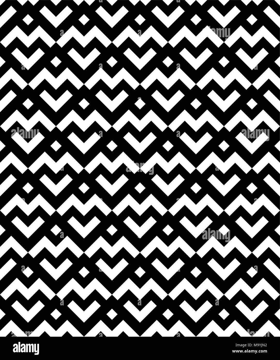 Black Zigzag Stockfotos & Black Zigzag Bilder - Alamy