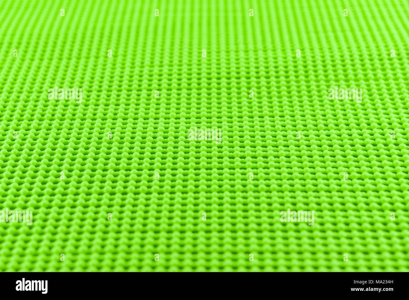 Detail grün Strukturierte rutschfeste Matte Stockbild