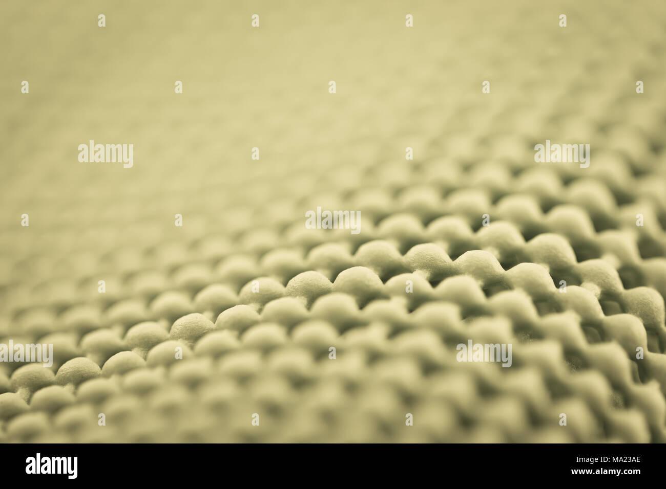 Nahaufnahme Detail grau Texturierte rutschfeste Matte Stockbild