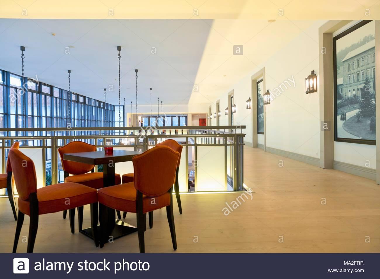 Ein Korridor In Der Graflicher Park Hotel Spa In Bad Driburg