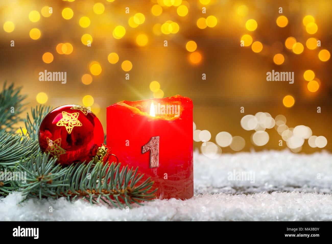 Der Erste Advent Stockfotos Der Erste Advent Bilder Alamy
