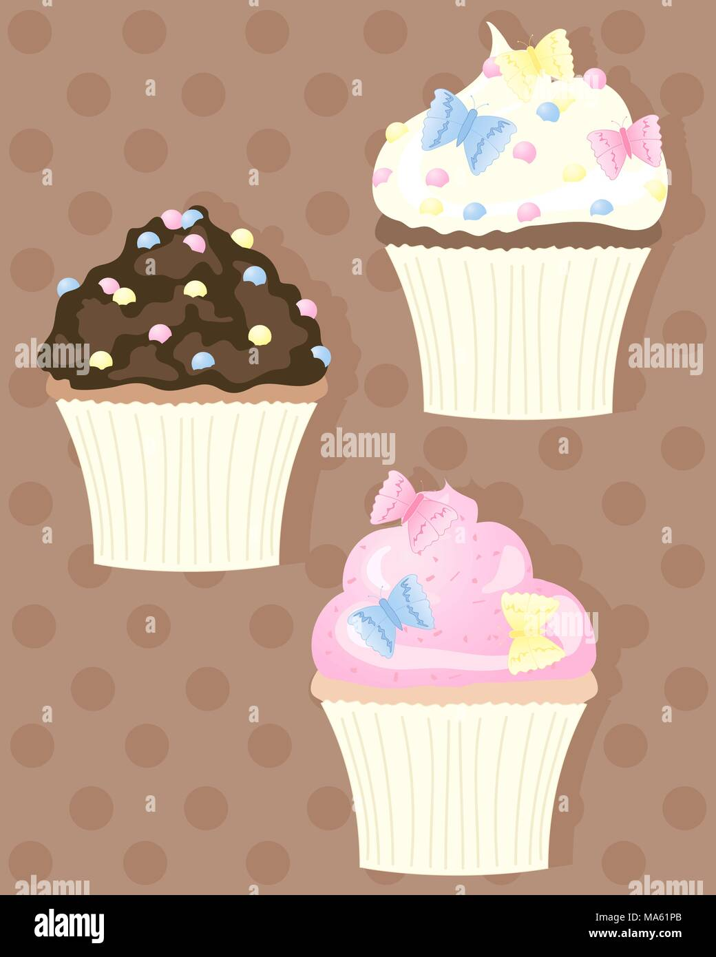 Beste Cupcakes Färbung Seite Ideen - Druckbare Malvorlagen ...