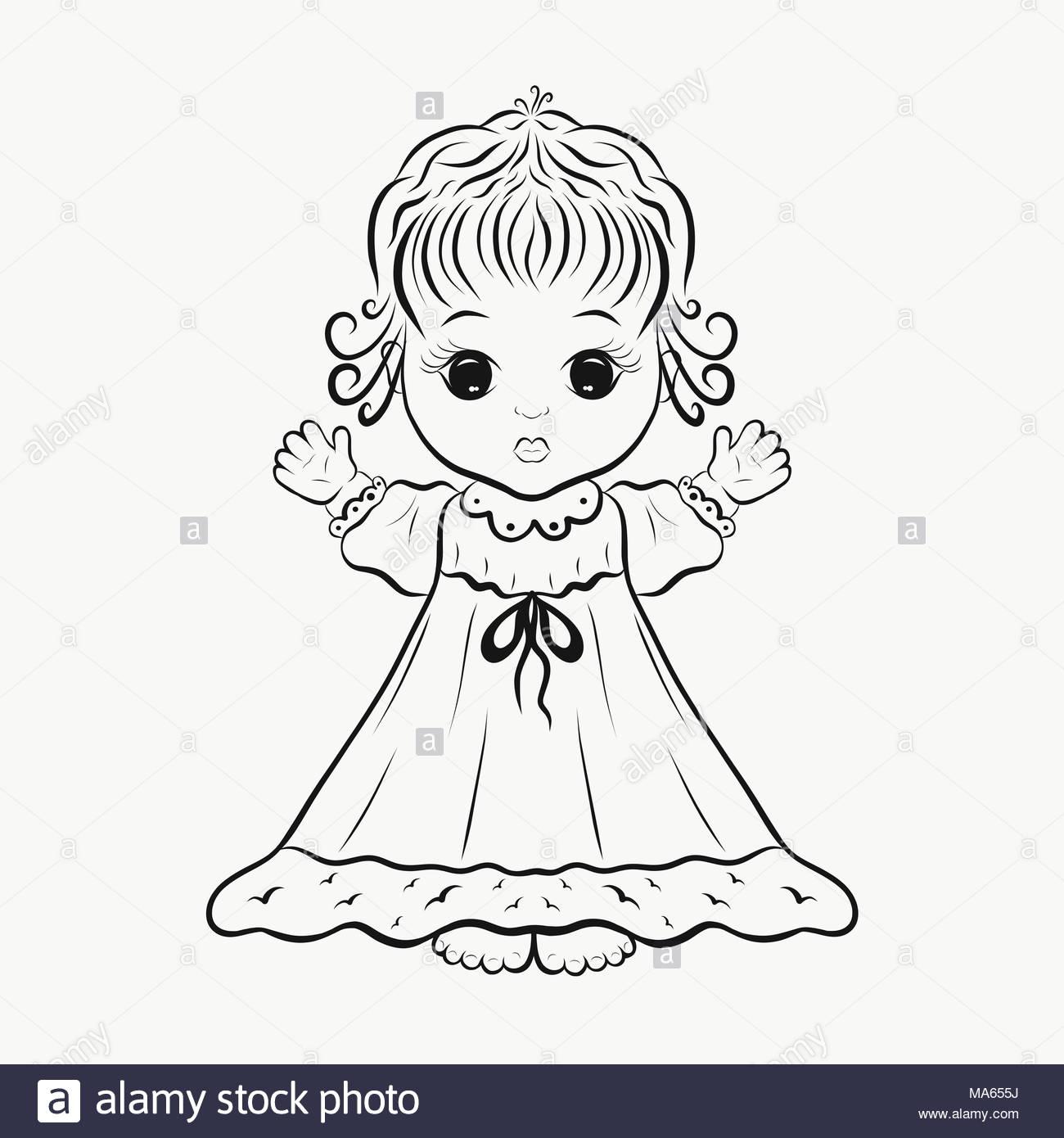 Schön Amerikanische Mädchen Puppe Malvorlagen Bilder - Malvorlagen ...
