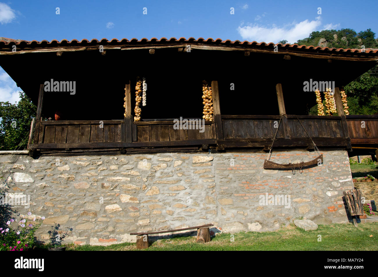 Stone Build Barn Stockfotos Stone Build Barn Bilder Alamy