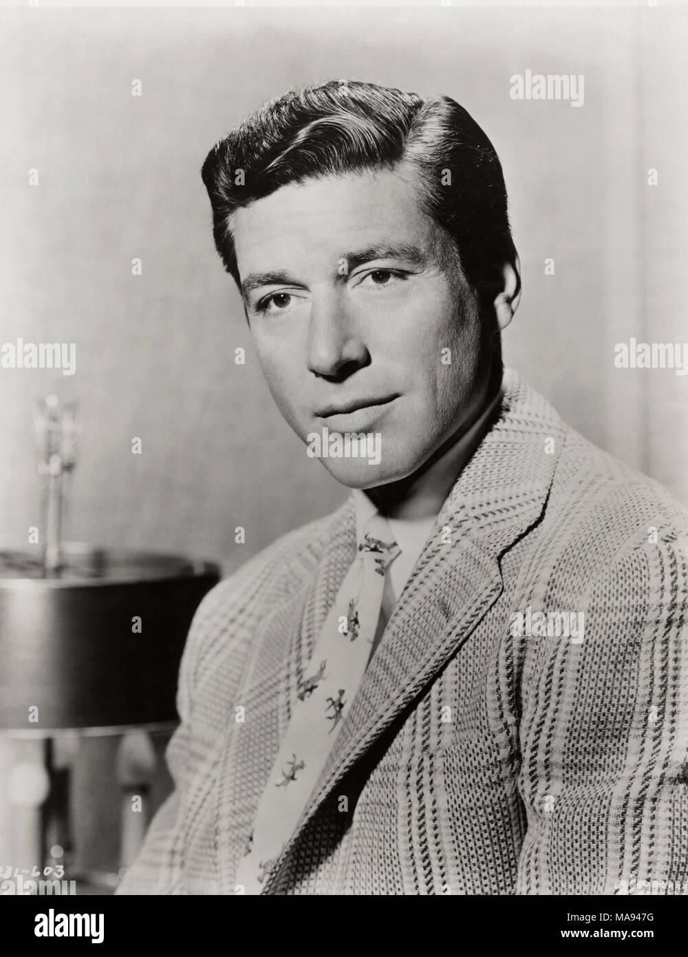 Schauspieler Efrem Zimbalist, jr., Werbung, Portrait, 1950er Jahre Stockbild