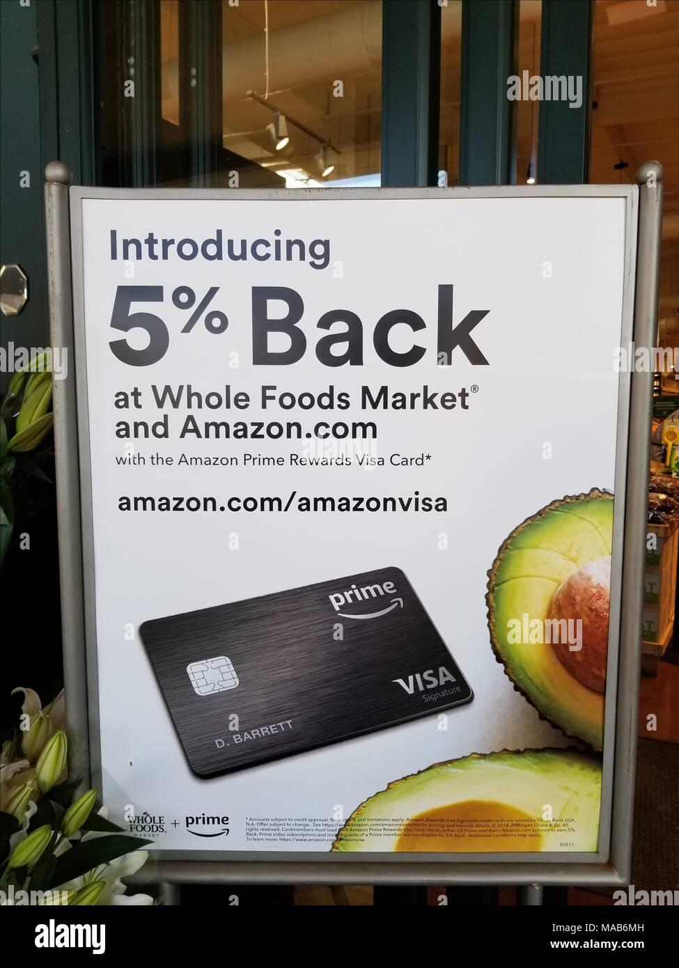 Unterschreiben Sie bei Whole Foods Market Lebensmittelgeschäft in