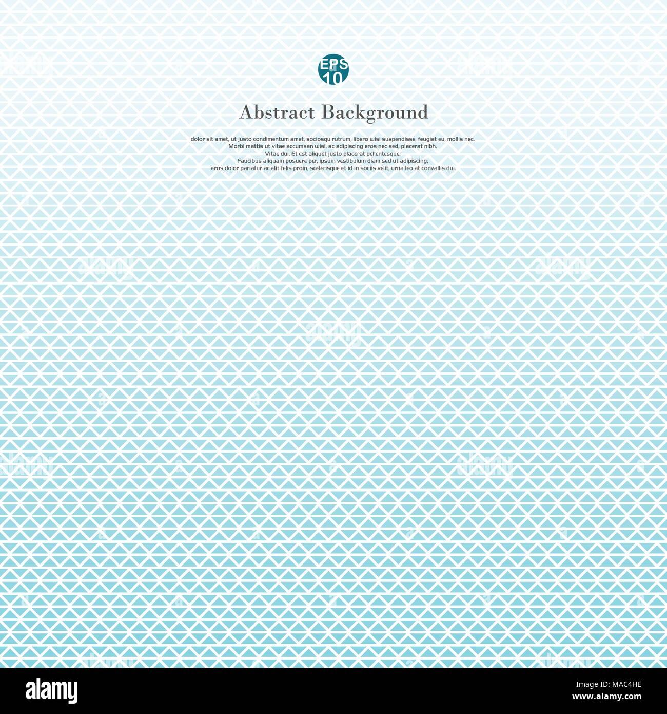 Zusammenfassung Von Blaues Dreieck Linien Wave Einfaches Muster