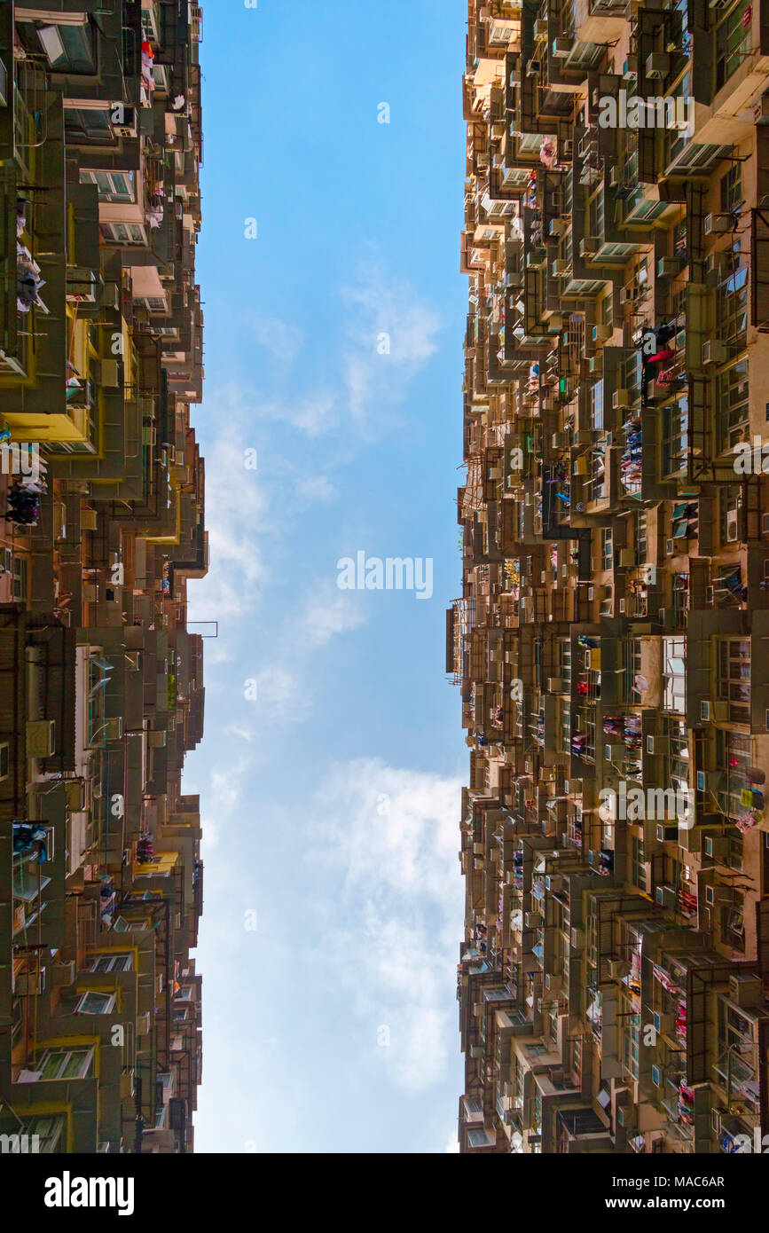 Montane Herrenhaus in Quarry Bay, Hong Kong, China Stockbild