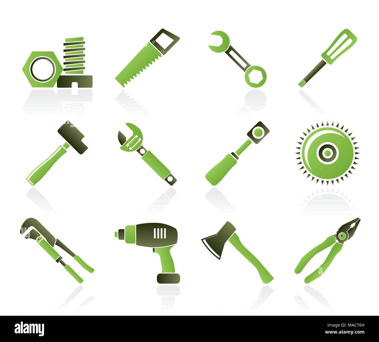 icon saw hammer symbol equipment stockfotos icon saw hammer symbol equipment bilder alamy. Black Bedroom Furniture Sets. Home Design Ideas