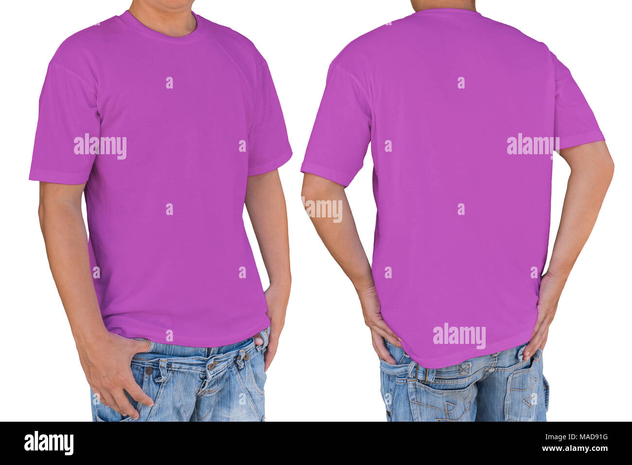 Blank Pink T Shirt Front Back Stockfotos & Blank Pink T Shirt ...