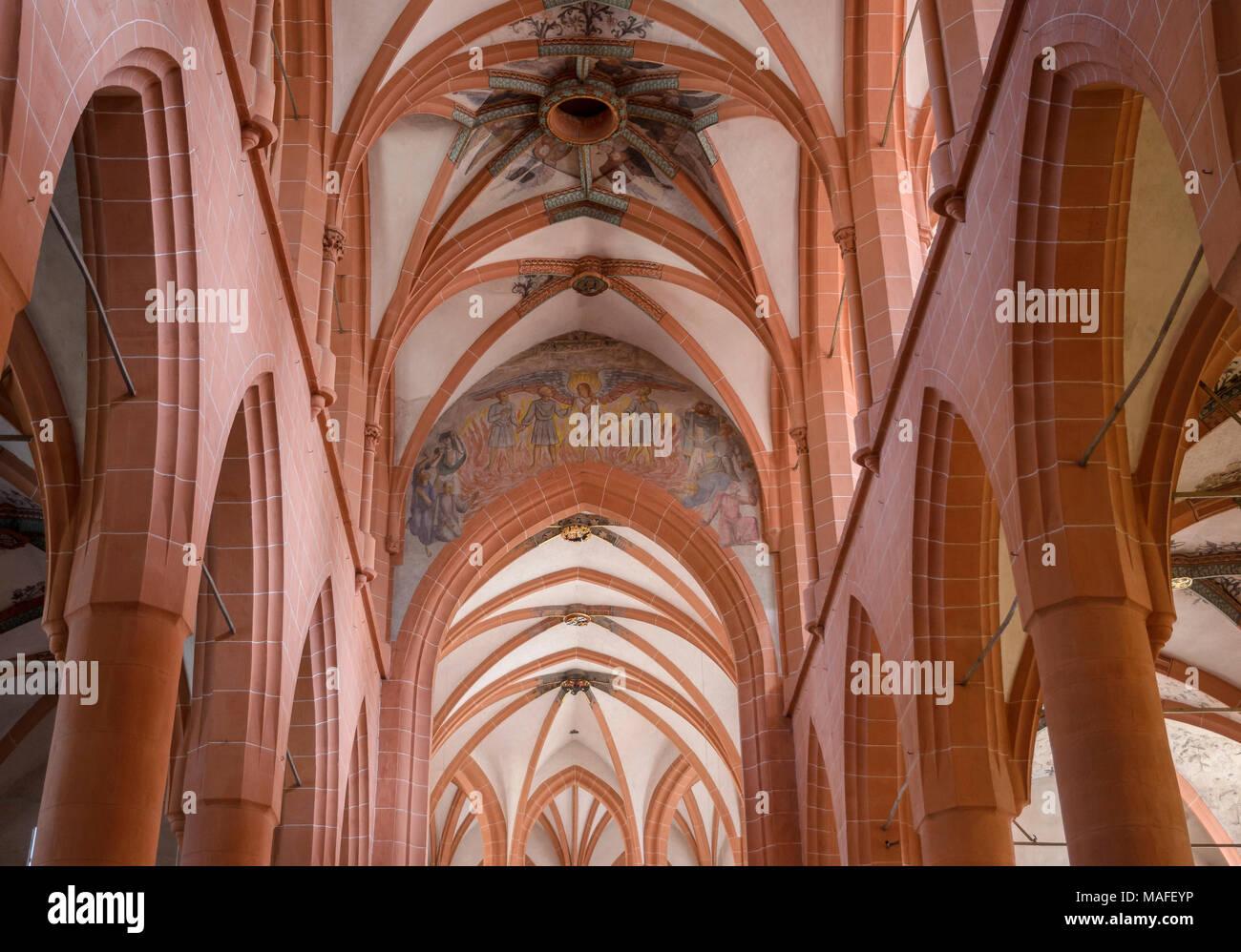 Grabstätte Ruprecht III. und seiner Gemahlin Elisabeth von Hohenzollern-Nürnberg, Heilig-Geist-Kirche, Heidelberg, Baden-Württemberg, Deutschland Stockbild