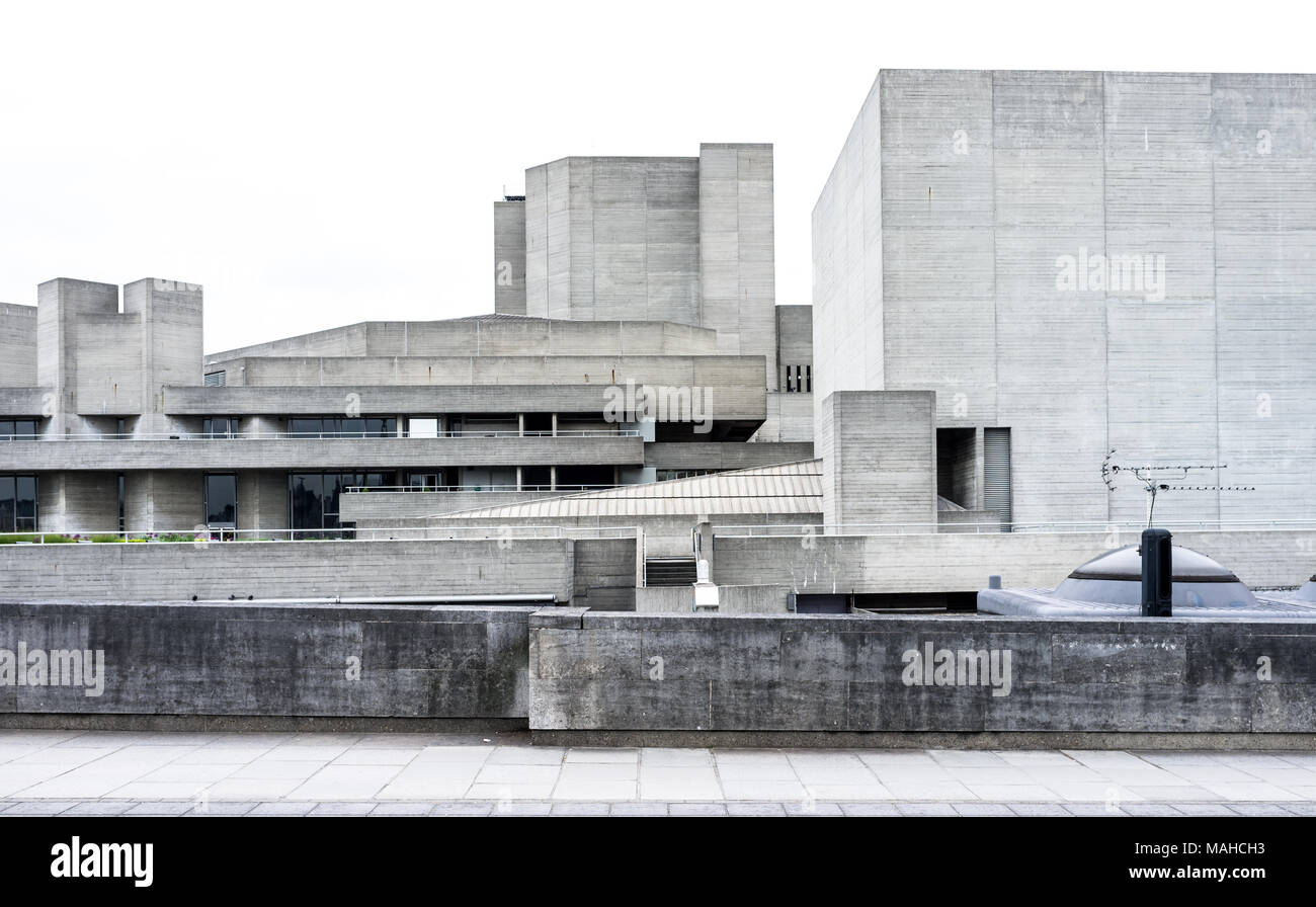 Das Royal National Theatre Stockbild
