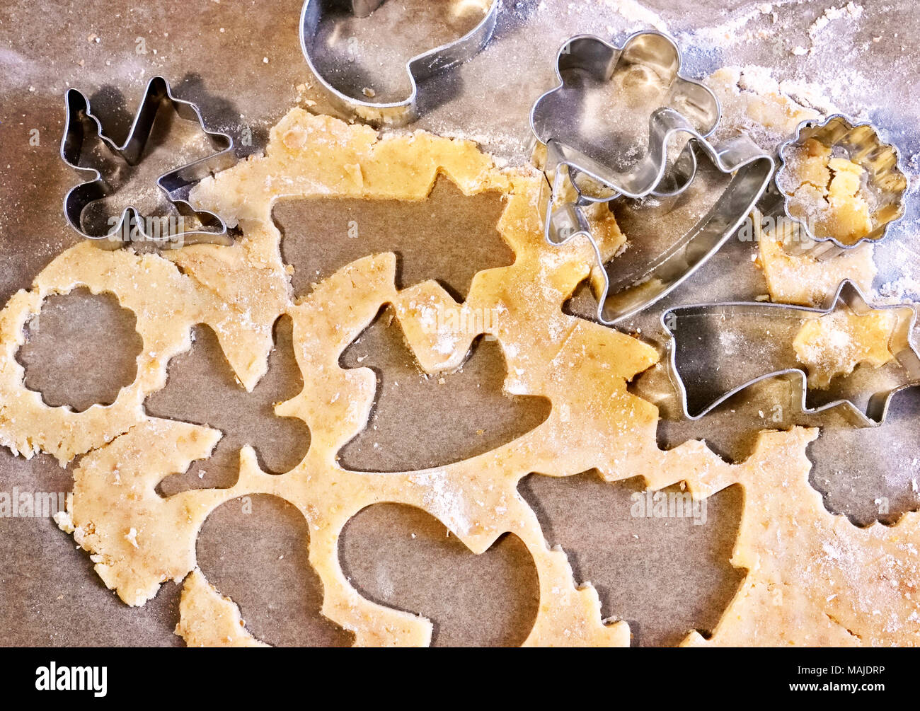 Kekse Backen Weihnachten.Weihnachten Backen Cookie Vorbereitung Verschiedene Arten