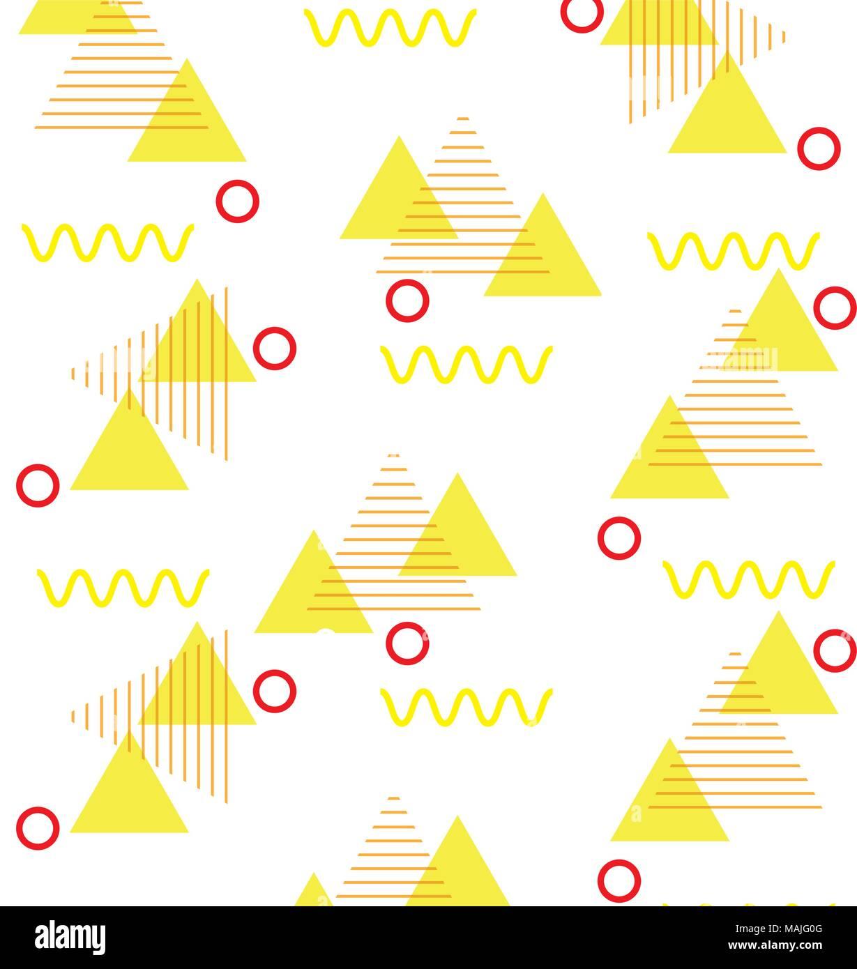 Geometrische Figuren Kunst Hintergrund Vector Illustration Design Stock Vektorgrafik Alamy